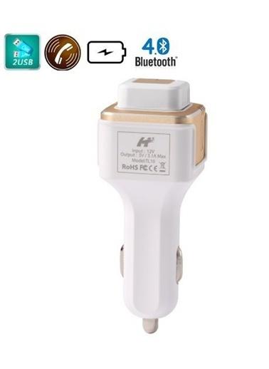 3in1 Mono Bluetooth Kulaklık/Araç Şarj Cihazı-Oxygen